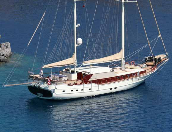 Broad beam and spacious decks provide pure luxury on the sea