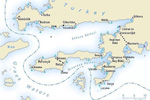 Sail the Gulf of Gokova including Datca & Knidos